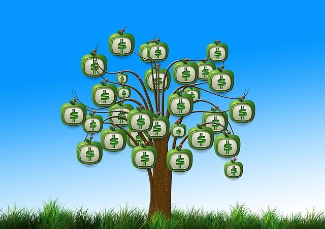 penízkový strom