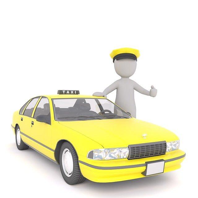 panáček taxikář